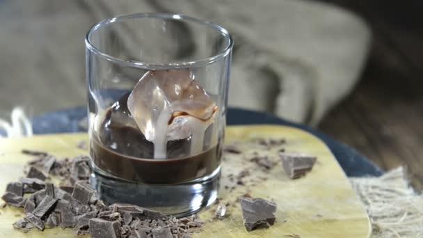 Шоколадный ликер без молока