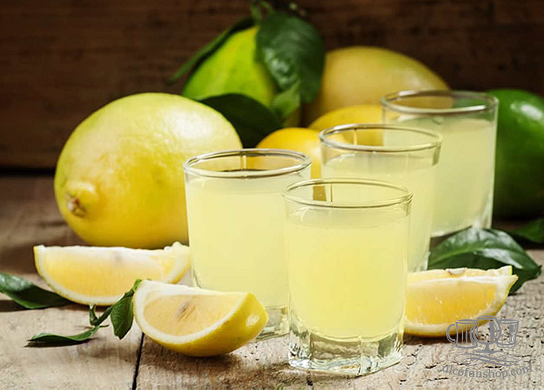 Лимонная цитрусовая ратафия