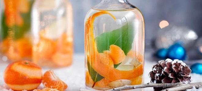 Ратафия цитрусовая мандарины