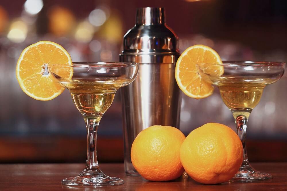 Ратафия на апельсине и лимоне